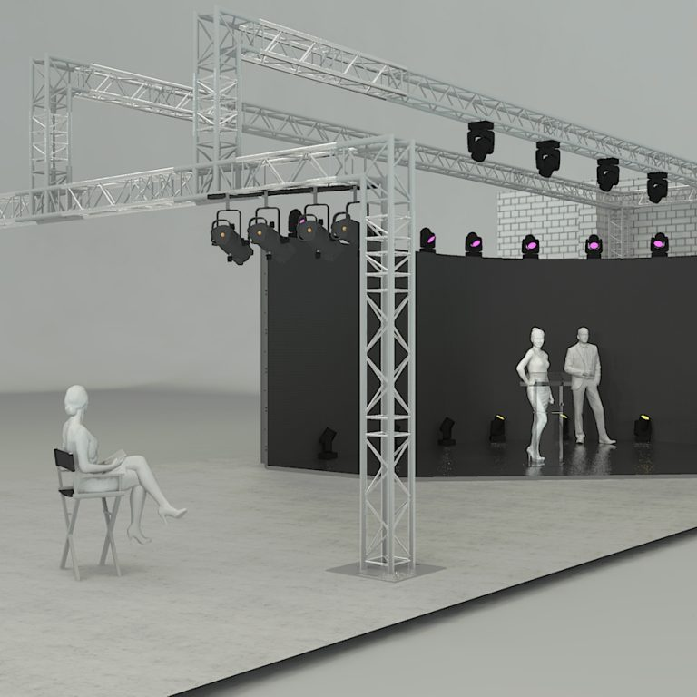 Studio hire for awards