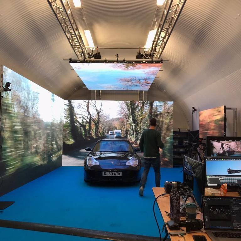 Car Film Shoot At Out London Studio