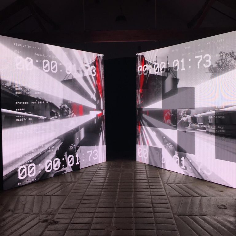 Dual LED Video Wall Hire