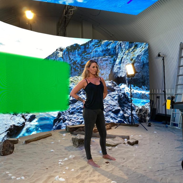 Film Studio hire with Green Screen