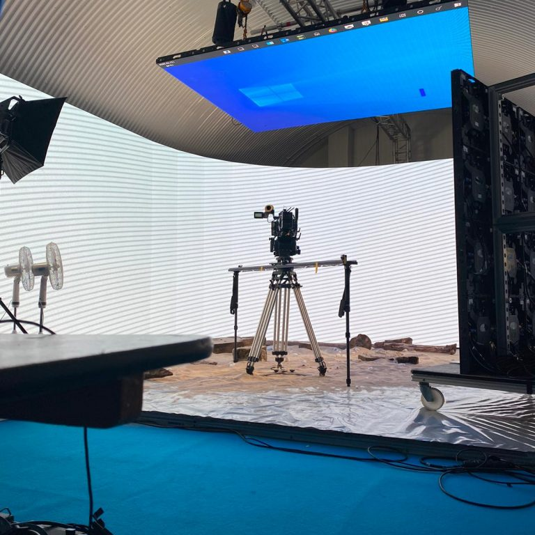 Studio Hire With LED Screen London