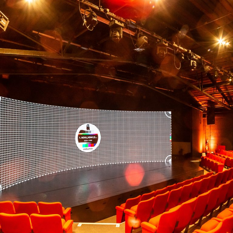 Large studio Hire London with LED Screen