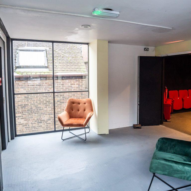 Studio 3 Hire Reception