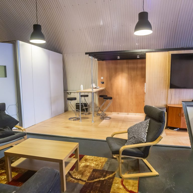Sitting area arch 160 studios
