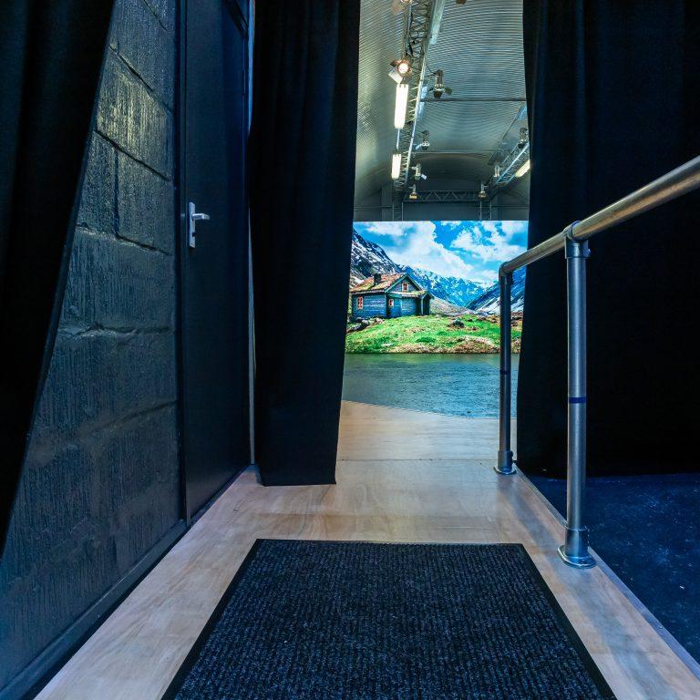Opening to studio 160