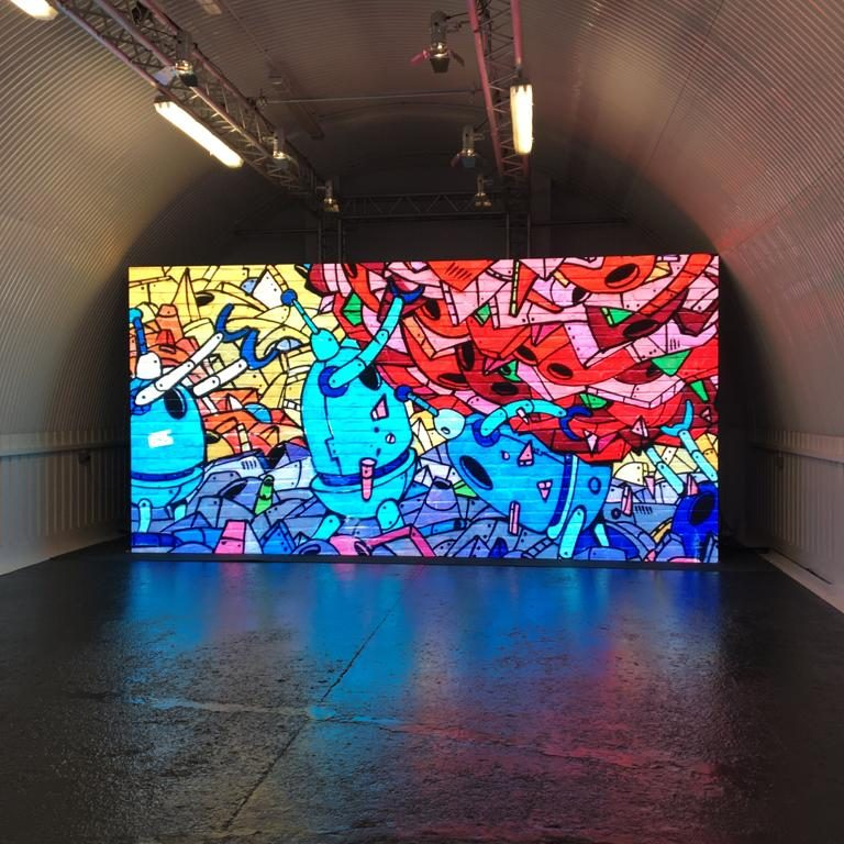 TV LED Screen In Studio London